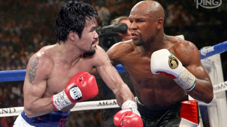 What it's like facing Floyd Mayweather Jr.: From THE RING Magazine