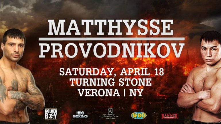 Fight Picks: Who wins Ruslan Provodnikov vs. Lucas Matthysse?