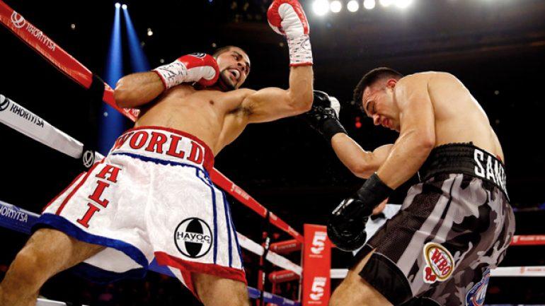 Sadam Ali: 'I want to win a world title'
