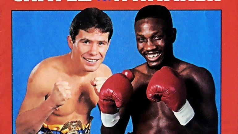 Head-to-head for pound-for-pound: Whitaker-Chavez remembered