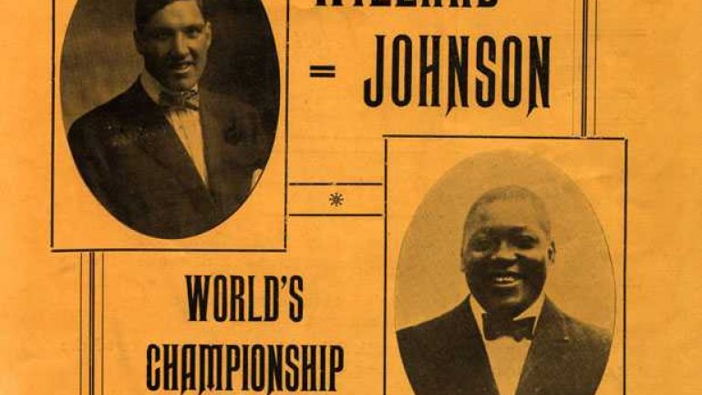 Jess Willard-Jack Johnson: 100 years later