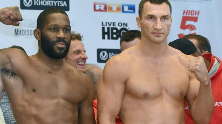 Photo gallery: Wladimir Klitschko-Bryant Jennings weigh-in