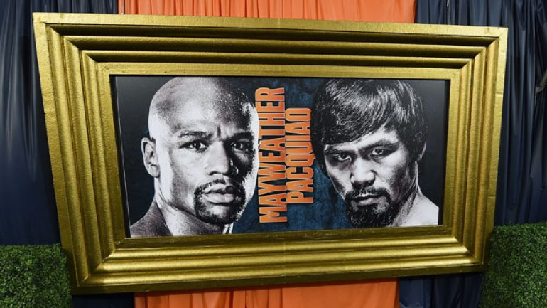 Will Mayweather-Pacquiao break wagering records? You bet