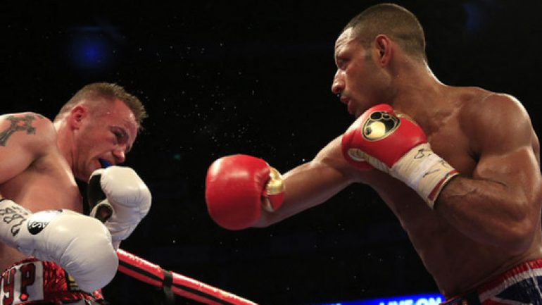 Kell Brook outclasses Frankie Gavin, keeps IBF welterweight title