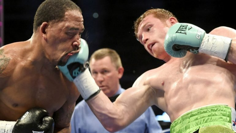 Photo gallery: Canelo Alvarez vs. James Kirkland