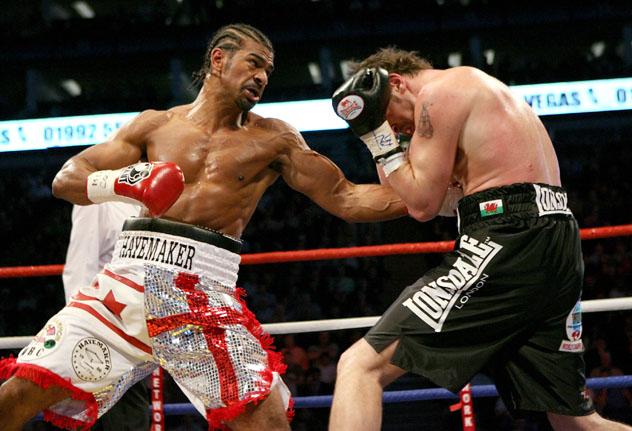 Haye vs. Maccarinelli (John Gichigi/Getty Images)