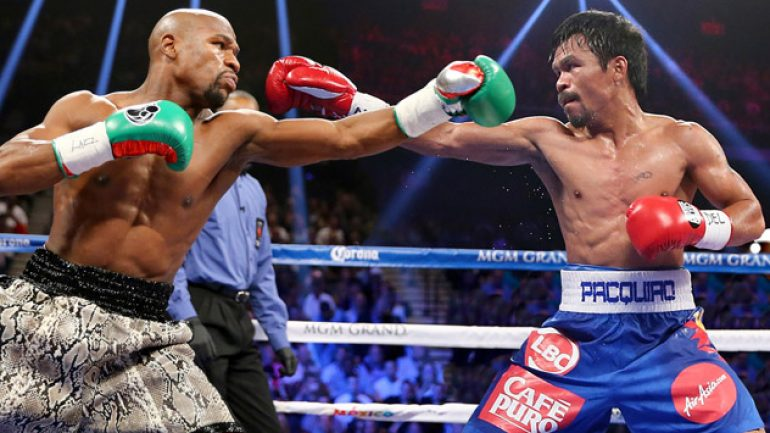 Mayweather's TUE raises questions; Pacquiao wants answers