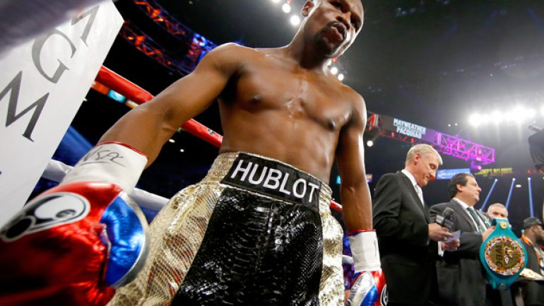 Control has always been the goal for Floyd Mayweather Jr.