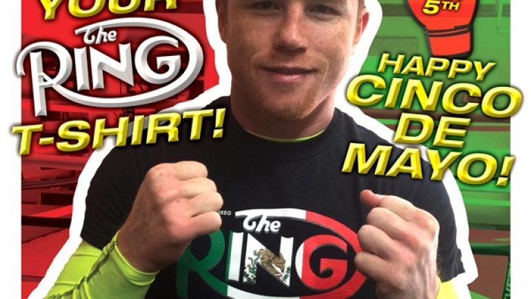 Ring Mexico t-shirts honor Cinco De Mayo