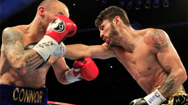 Jorge Linares stops Kevin Mitchell in bloody 10-round brawl