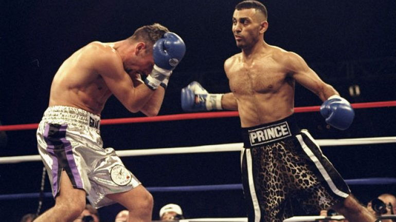 From the Telegraph: Naseem Hamed reflects on verge of IBHOF induction