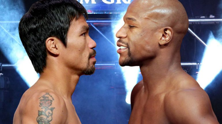 Floyd Mayweather Jr. vs. Manny Pacquiao: Head to head analysis