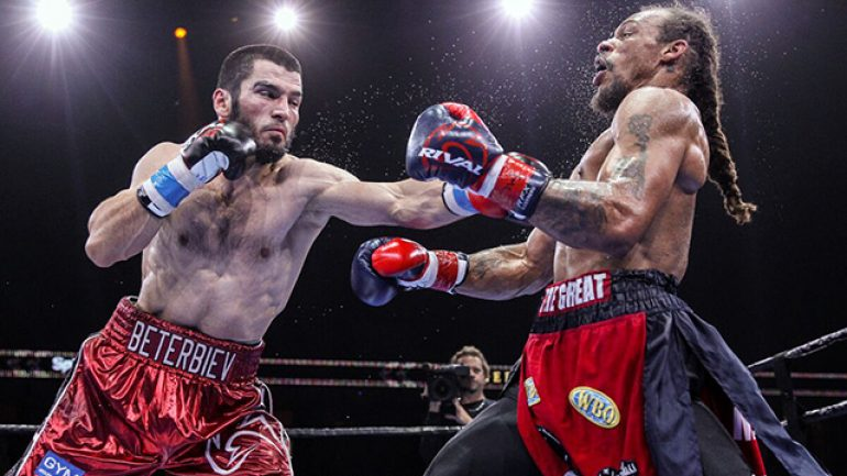 Despite layoff, Artur Beterbiev says he's ready for top 175-pounders