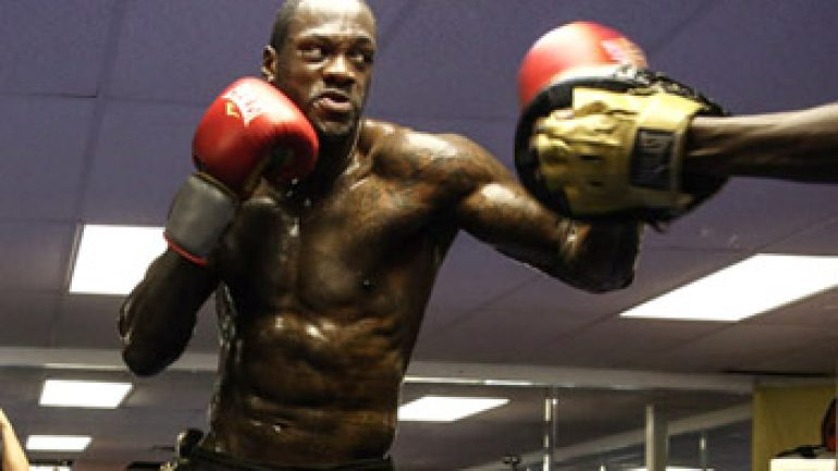 Photo gallery: Deontay Wilder-Eric Molina media workout
