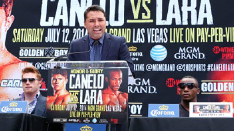 Oscar De La Hoya remains a fighter during Golden Boy transition