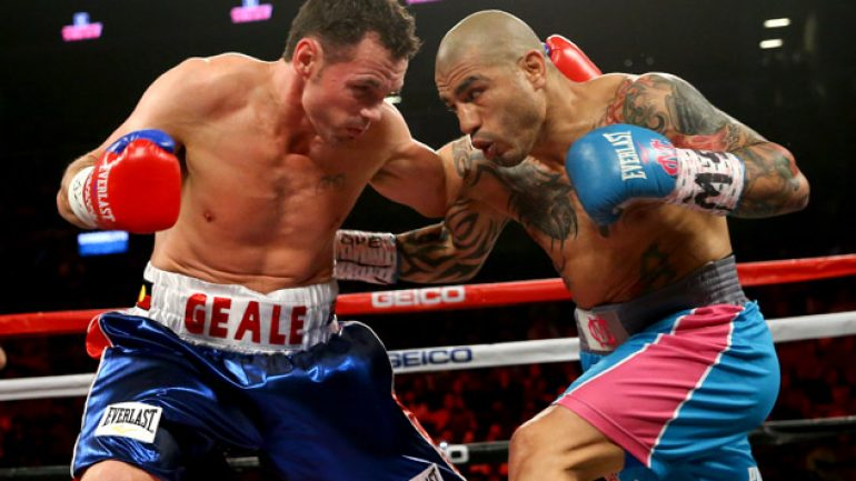 Miguel Cotto rolls over Geale, says 'Canelo will just be another fight'