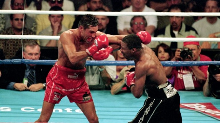 Shane Mosley-Oscar De La Hoya: 15 years later
