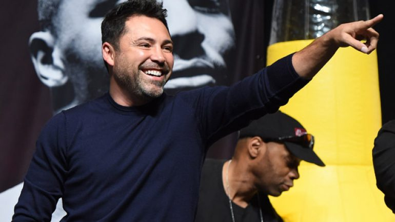 Oscar De La Hoya says no to comeback