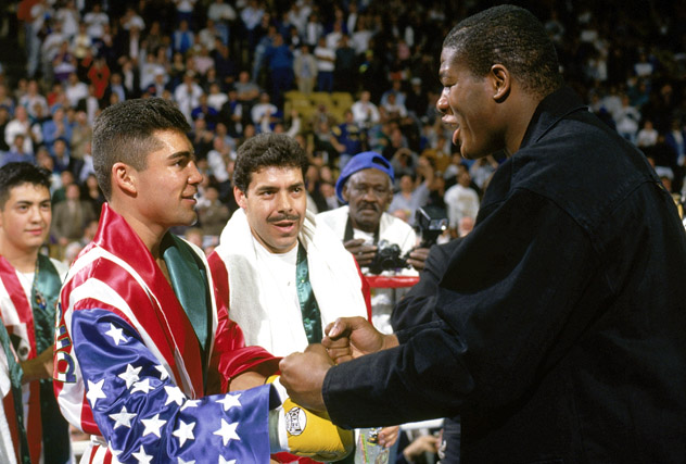 Oscar De La Hoya v Lamar Williams