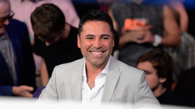 Oscar De La Hoya: 'The Cold War is over'