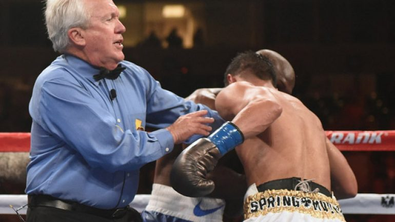 Pat Russell's early stoppage raises old questions