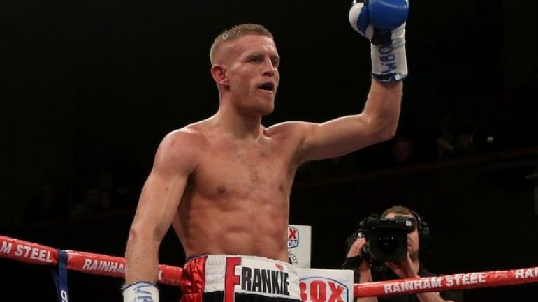 Flanagan to defend WBO 135-pound belt against Derry Mathews