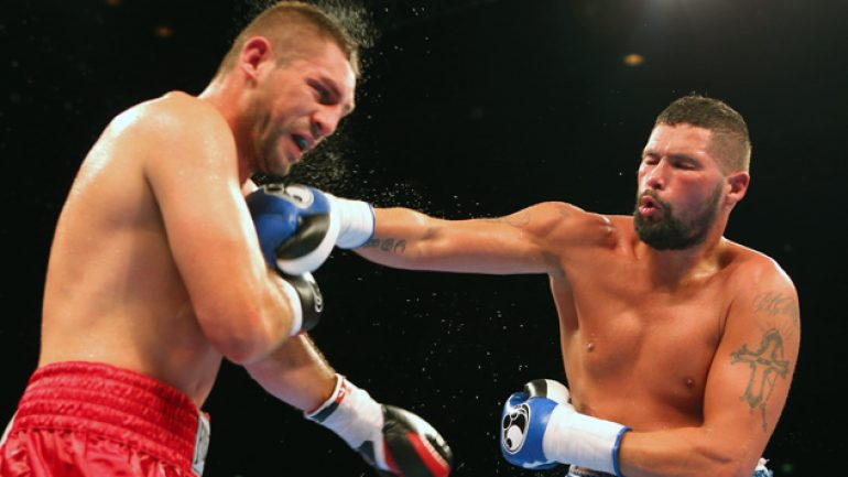 Tony Bellew and Martin Murray score stoppages in Liverpool