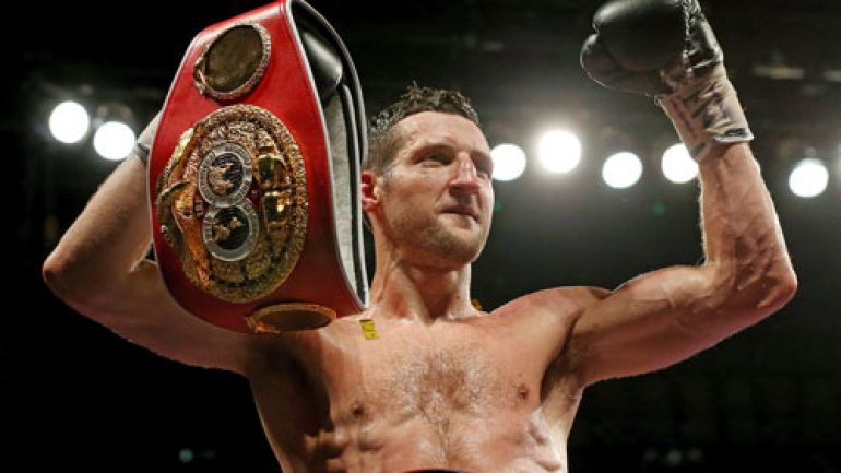 Carl Froch confirms plan to continue fighting