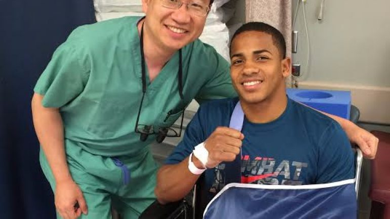 Felix Verdejo ready to return after successful hand surgery and rehab