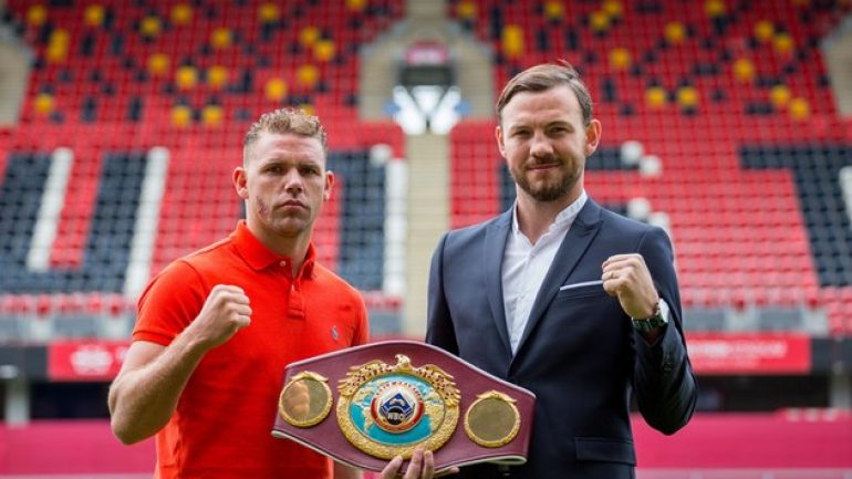Press release: Showtime to televise Andy Lee-Billy Joe Saunders