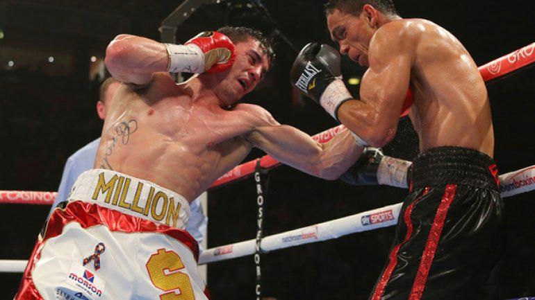 Crolla dethrones Perez in five to win WBA 135-pound title