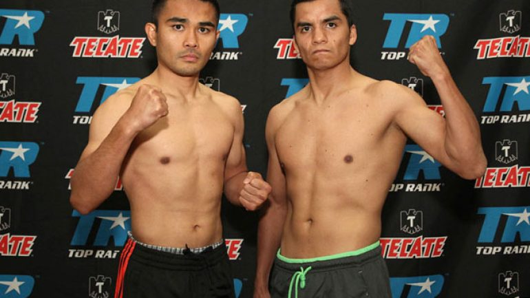 Photo gallery: Brian Viloria-Omar Soto weigh-in