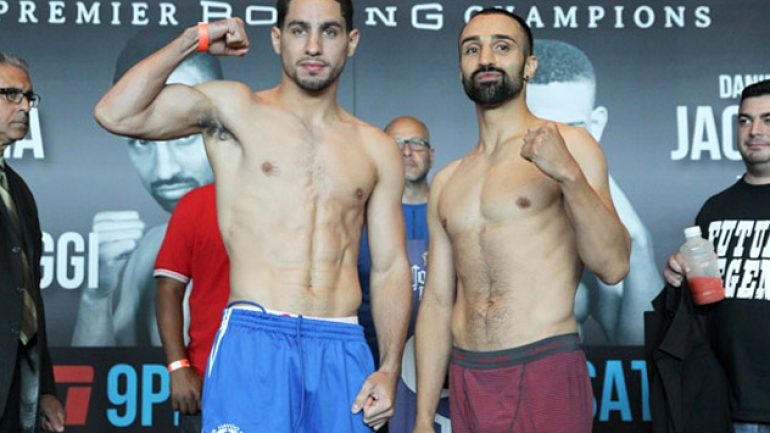 Danny Garcia-Paulie Malignaggi weigh-in results and photos