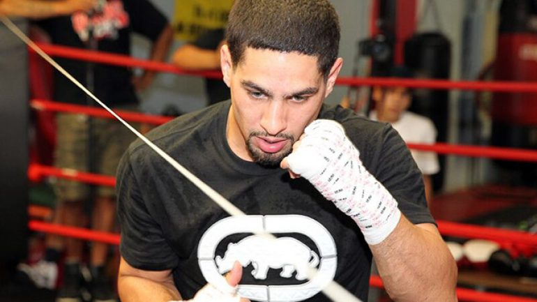 Weight struggle behind him, Garcia's ready for Malignaggi, fatherhood