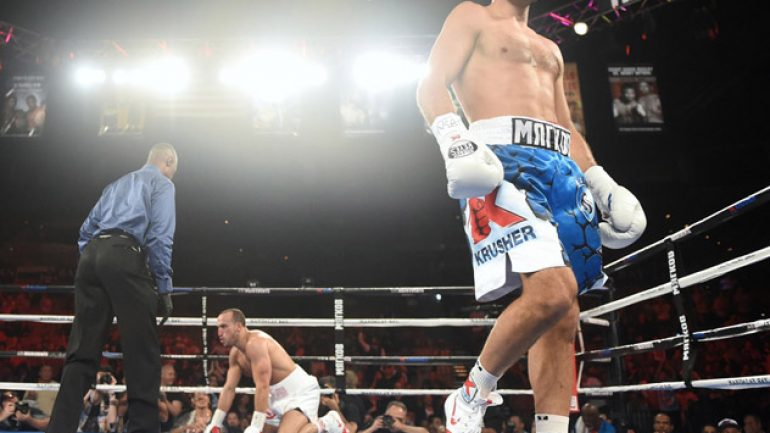 Photo gallery: Sergey Kovalev vs. Nadjib Mohammedi