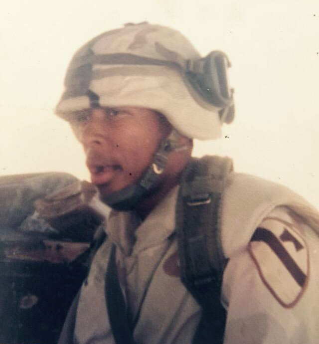 Cameron during Operation Iraqi Freedom