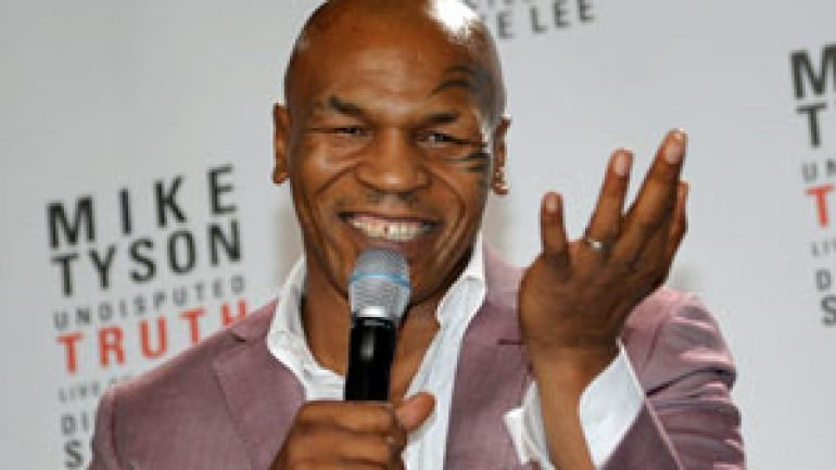 Mike Tyson assists injured motorcyclist