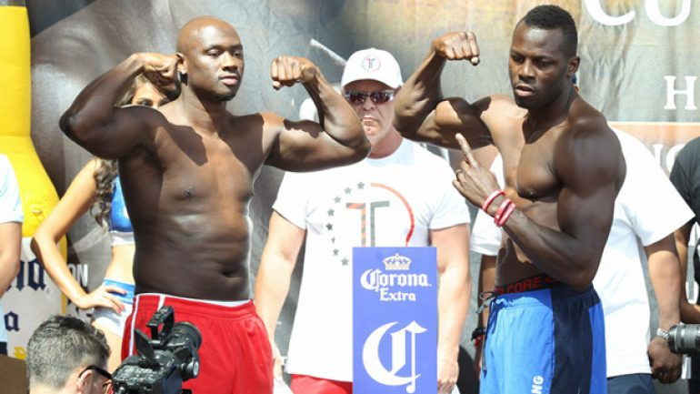 Antonio Tarver-Steve Cunningham weights and photos