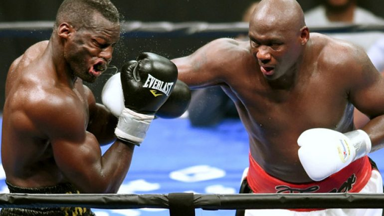 Antonio Tarver's license has been revoked by NJ Control Board