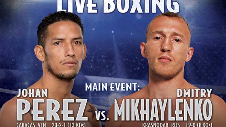 Press release: Perez-Mikhaylenko scouting report