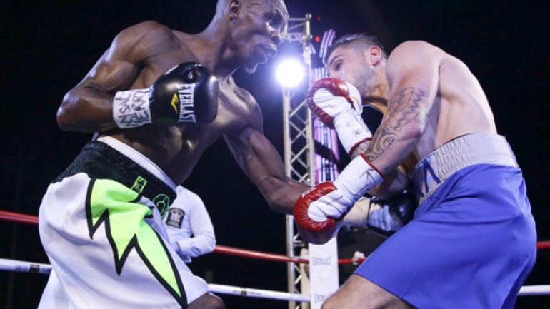 Cornelius Lock upsets Alexander Miskirtchian in 'Brooklyn Brawl'