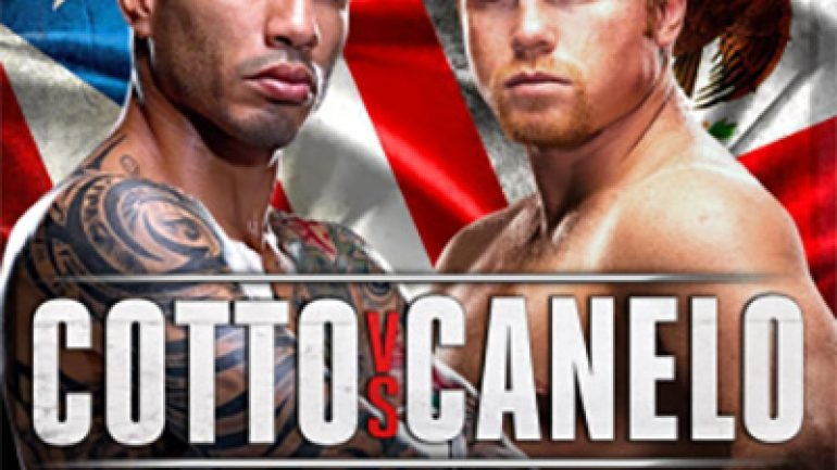 Cotto-Canelo kick-off presser in L.A. to be live streamed