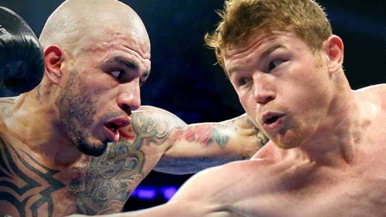 Lee and Saunders split on Cotto-Canelo