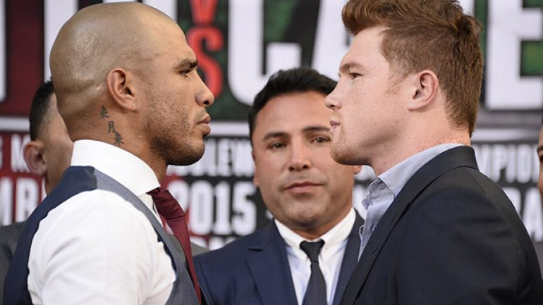 Watch live stream of Cotto-Canelo final press conference