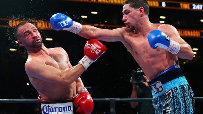 Danny Garcia beats – and probably retires – Paulie Malignaggi