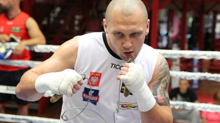 Krzysztof Glowacki injury-free and ready for ring return