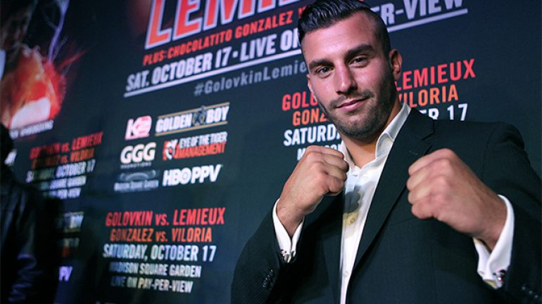 Q&A: David Lemieux