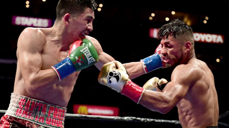 Leo Santa Cruz proves he's for real in victory over Abner Mares