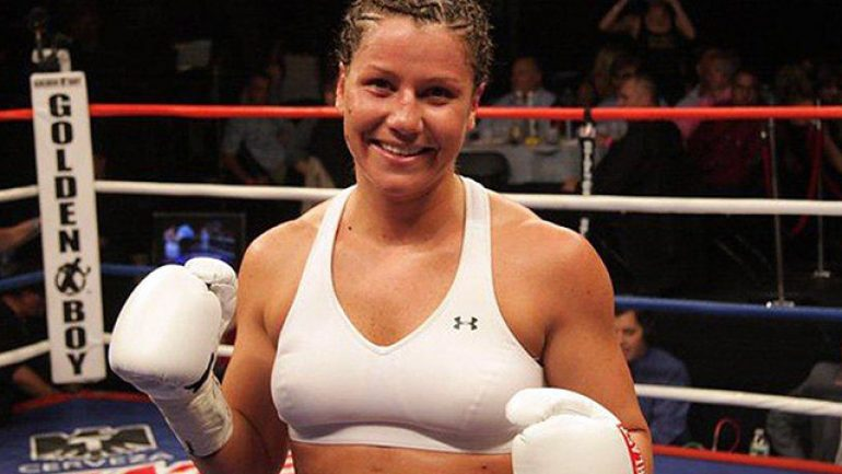 Maureen Shea relishes PPV opportunity tonight