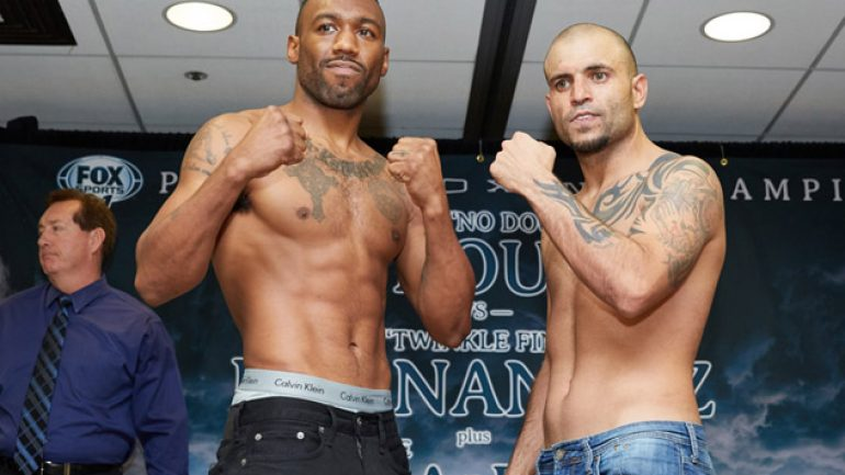 Austin Trout-Joey Hernandez weigh-in results and photos